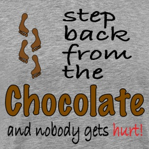 Perfect graphic for chocolate lovers. - Men's Premium T-Shirt
