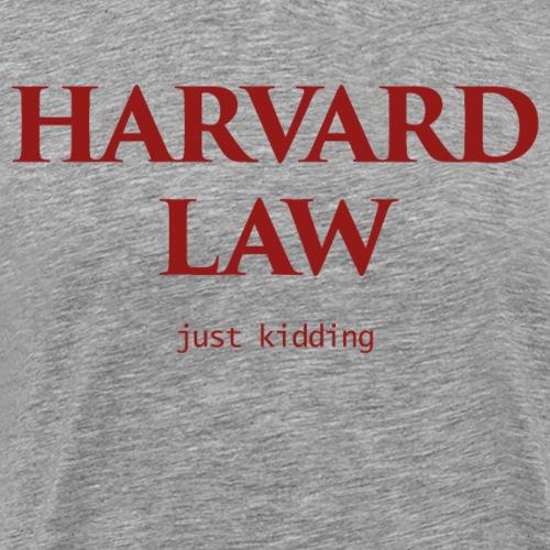 harvard law - Men's Premium T-Shirt