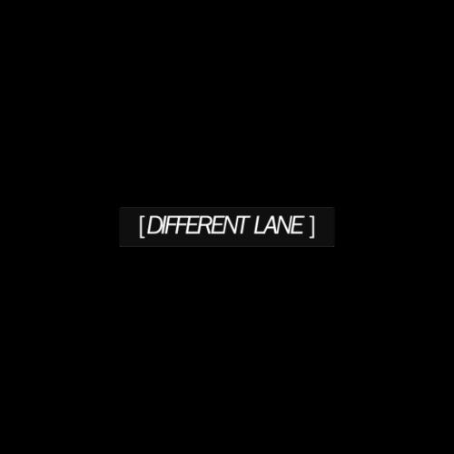 Different Lane Plain Box Logo - Men's Premium T-Shirt