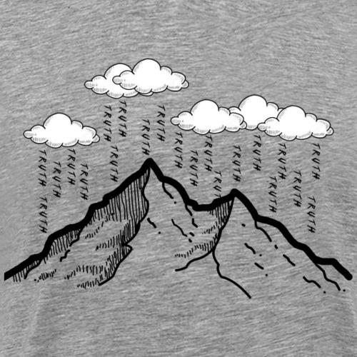 Raining Truth - Men's Premium T-Shirt