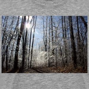 Ice Blue Forest - Men's Premium T-Shirt
