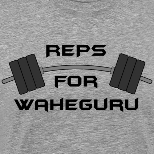 REPS FOR WAHEGURU - Men's Premium T-Shirt