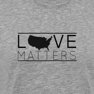 Love Matters (black) - Men's Premium T-Shirt