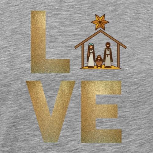 Nativity - LOVE - Men's Premium T-Shirt