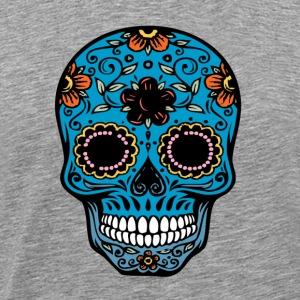 day of the dead skull - Men's Premium T-Shirt