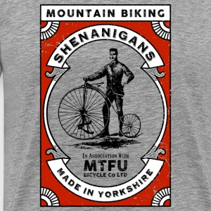 Mountain Biking Shenanigans - Men's Premium T-Shirt