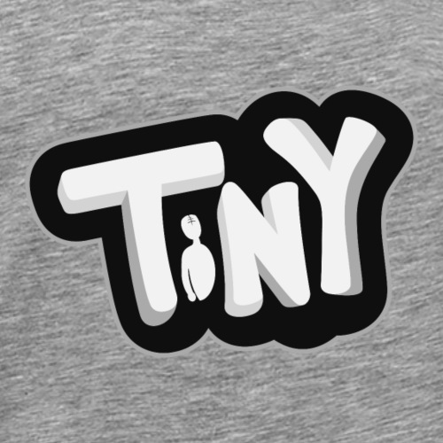 Tiny-Logo - Men's Premium T-Shirt