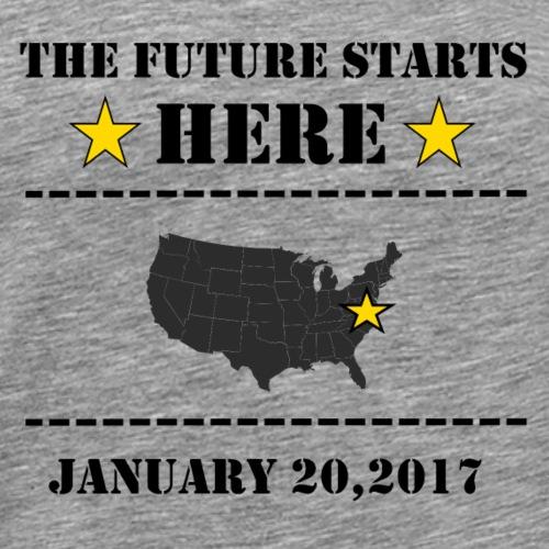 future-starts - Men's Premium T-Shirt