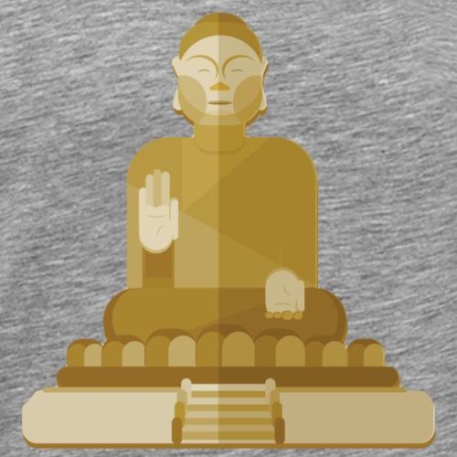 Inner Peace is Inner Power - Buddha - Men's Premium T-Shirt
