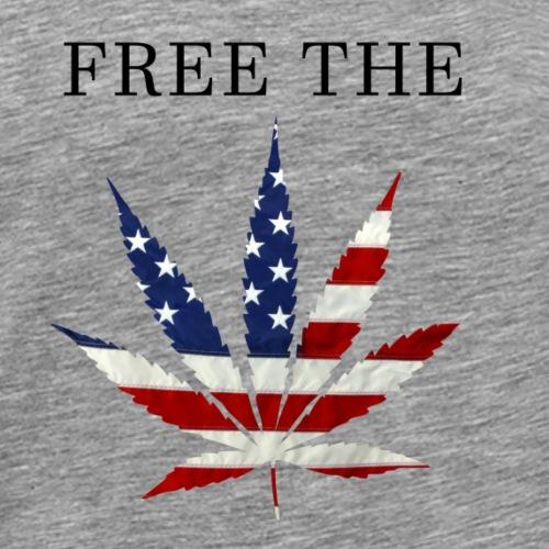 Free The Weed - Men's Premium T-Shirt