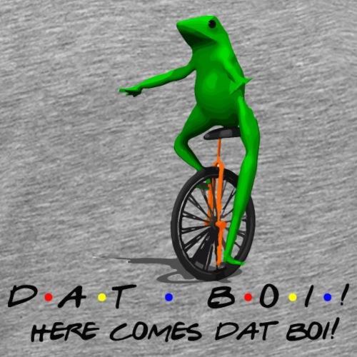 DAT BOI! (Friends Text) - Men's Premium T-Shirt