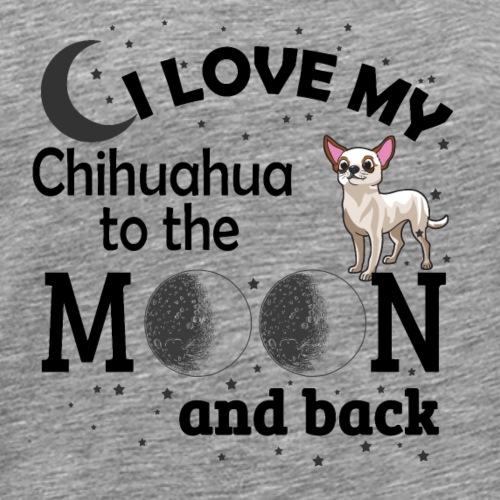 I love my Chihuahua - Men's Premium T-Shirt