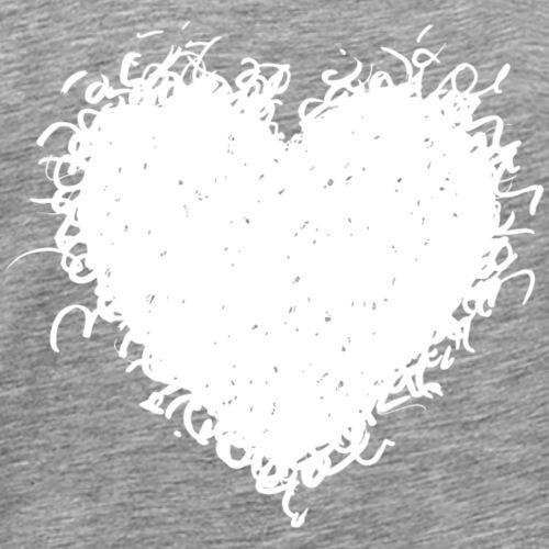 HairyHeart - Men's Premium T-Shirt