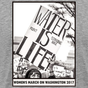 Women's March on Washington 2017-Water is Life - Men's Premium T-Shirt