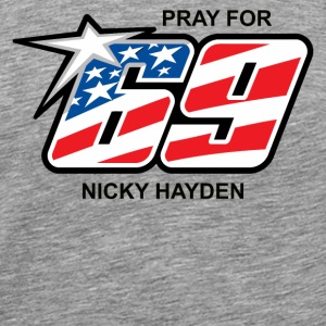 Pray For 69 - Men's Premium T-Shirt