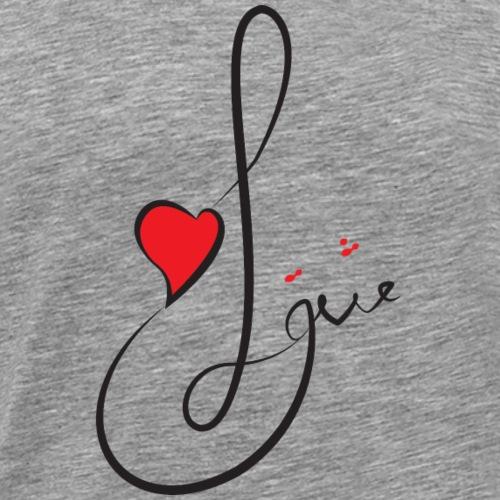 T shirt_Love2 - Men's Premium T-Shirt