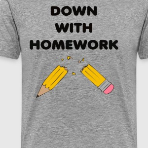 Broken homework - Men's Premium T-Shirt