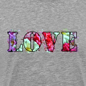 Love-Roses-Collage - Men's Premium T-Shirt