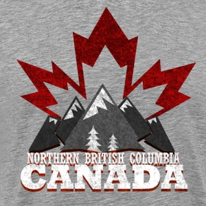 Northern British Columbia Canada - Men's Premium T-Shirt