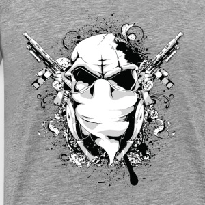 skulls guns - Men's Premium T-Shirt