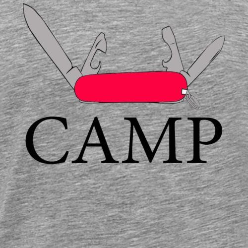 Army Knife Camp - Men's Premium T-Shirt