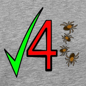 Check 4 Ticks - Men's Premium T-Shirt