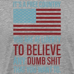 It's a Free Country - Men's Premium T-Shirt