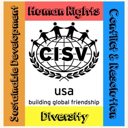 CISV Educational Content Areas - Men's Premium T-Shirt