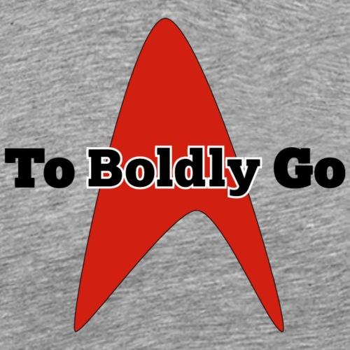 To Boldly Go - Men's Premium T-Shirt