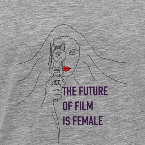The Future of Film is Female - Men's Premium T-Shirt