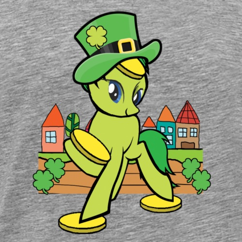 Irish Lucky Pony - Men's Premium T-Shirt