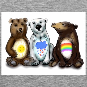 Some Seriously Caring Bears - Men's Premium T-Shirt