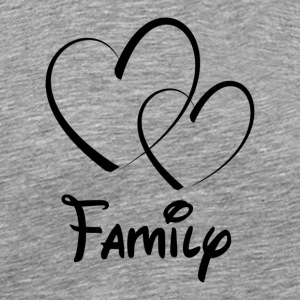 Heart Family - Men's Premium T-Shirt