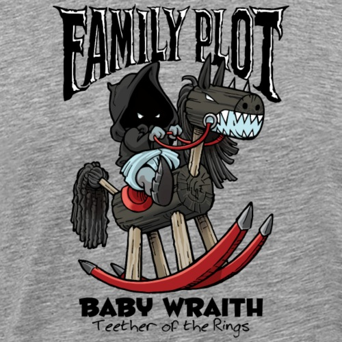 Baby Wraith - Family Plot - Men's Premium T-Shirt