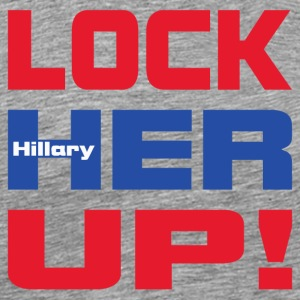 Lock_Hillary - Men's Premium T-Shirt