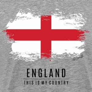 ENGLAND FLAG - THIS IS MY COUNTRY - Men's Premium T-Shirt