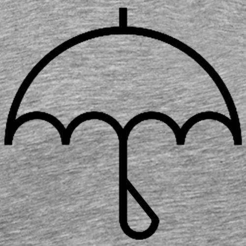 Umbrella with Drop - Men's Premium T-Shirt