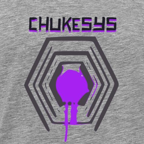 Chukesys Text & Logo - Men's Premium T-Shirt