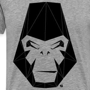 Urban Gorilla Wear Poly black - Men's Premium T-Shirt