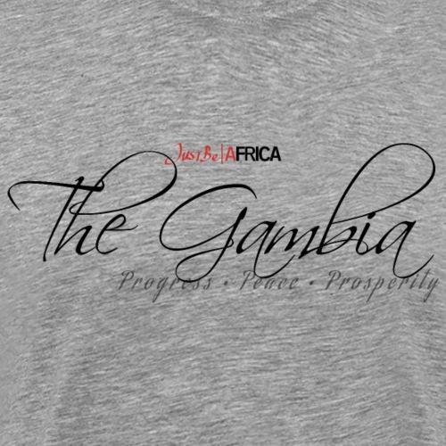 Gambia Sleek - Light - Men's Premium T-Shirt