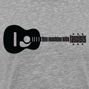 Music kills Fascism - Men's Premium T-Shirt