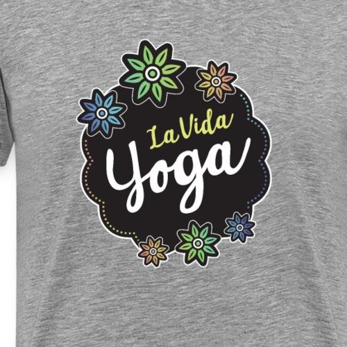 La Vida Yoga - Men's Premium T-Shirt