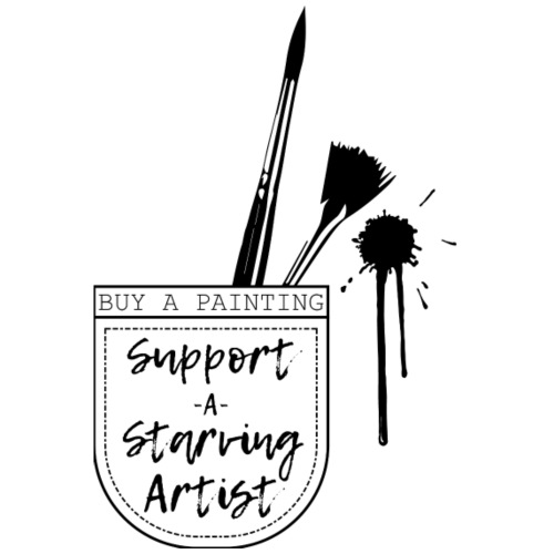 Support a Starving artist (2) - Men's Premium T-Shirt