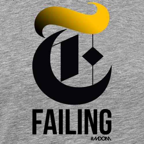 The Failing DJT - Men's Premium T-Shirt