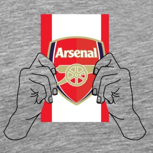 arsenal football team flag - Men's Premium T-Shirt