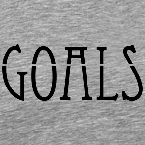 Goals - Men's Premium T-Shirt