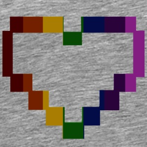 rainbowpixelH - Men's Premium T-Shirt