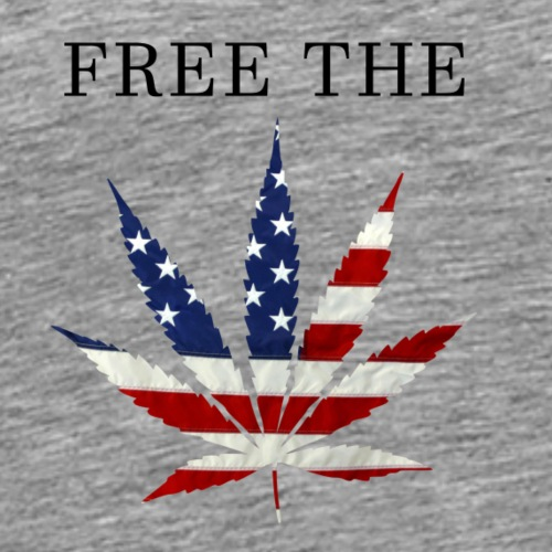 Free The Weed - Men's Premium T-Shirt