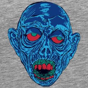 Graveyard Ghoul Shocking Blue - Men's Premium T-Shirt