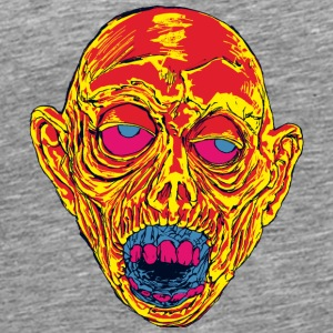 Graveyard Ghoul Toxic Orange - Men's Premium T-Shirt